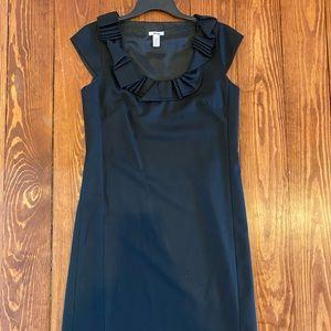J.crew black wool dress 4